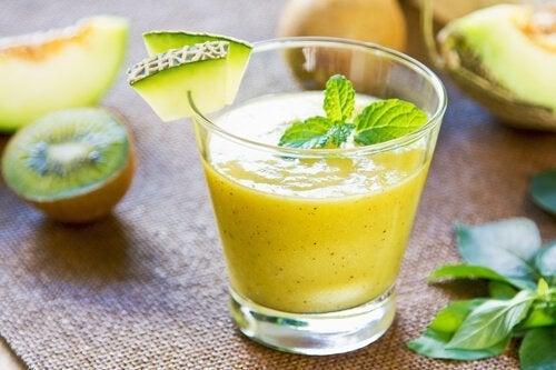Remédios naturais à base de melão