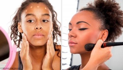 Maquiagens certas para pele escura