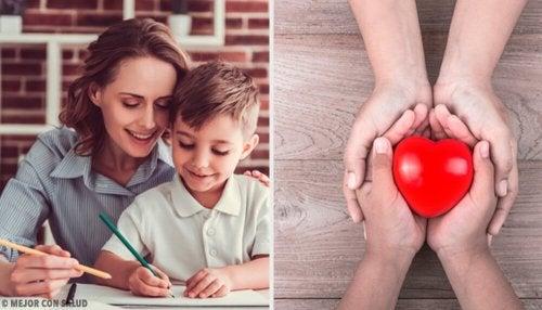 Educar os filhos ajuda a que eles controlem as emoções desde pequenos
