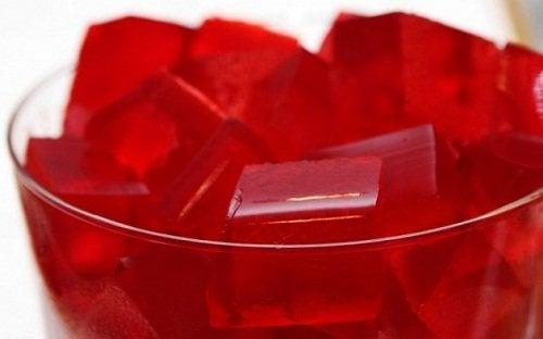 Receita de gelatina com vinho