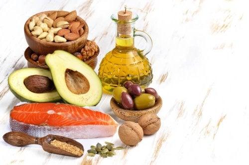 Fontes de gordura saudável