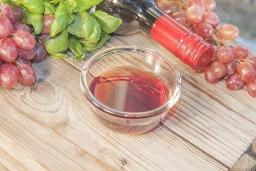 Marinada de vinho tinto