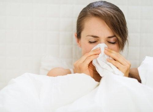 Prepare um antiviral quando estiver prestes a uma gripe