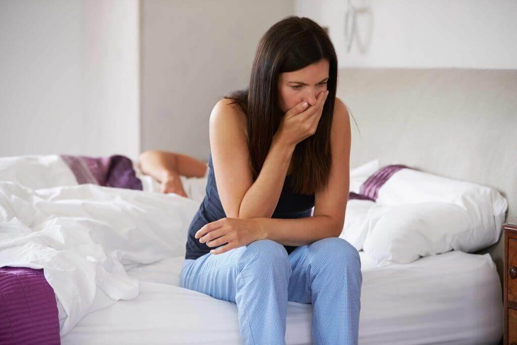 As pílulas anticoncepcionais podem provocar náuseas