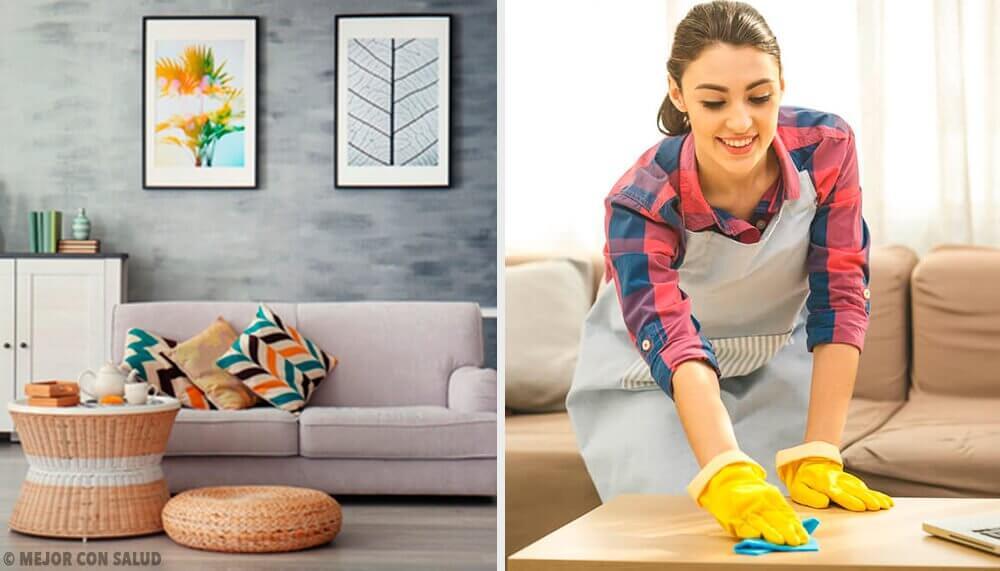 5 hábitos de limpeza para manter a casa arrumada