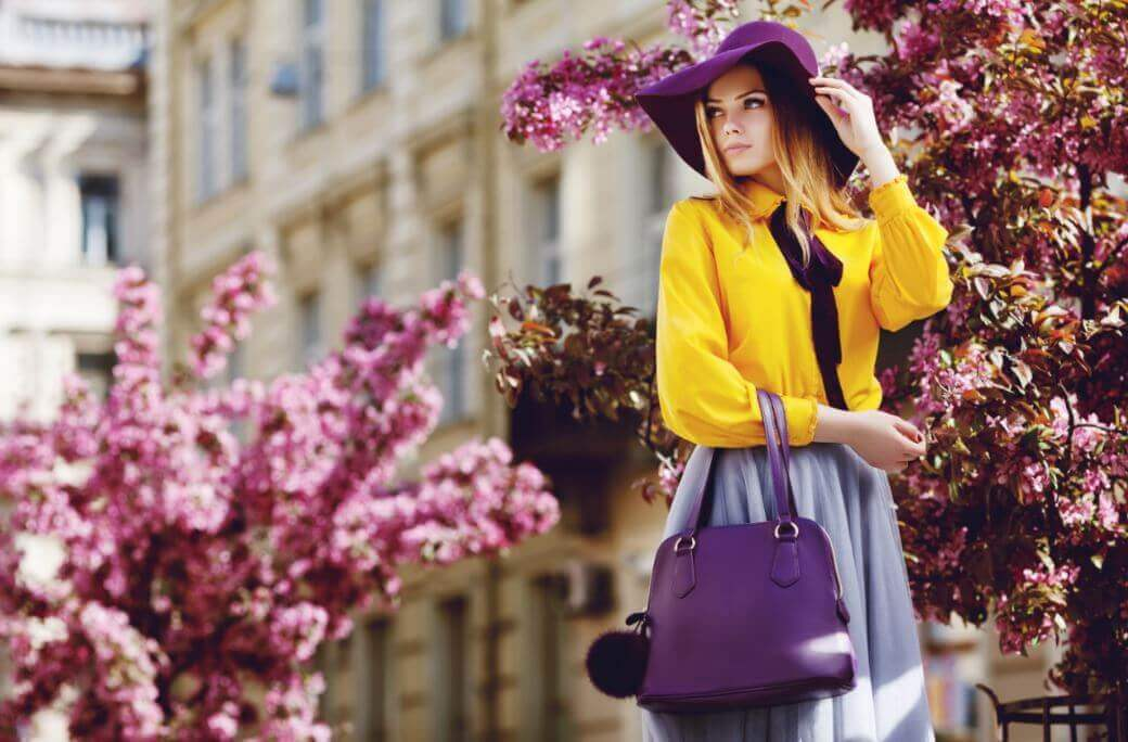 O significado das cores na forma de vestir