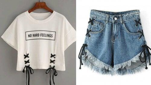 Pode usar suas roupas velhas para fazer camisetas e jeans novos