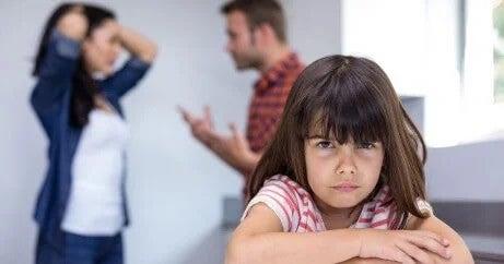 Não Discutir na frente das crianças