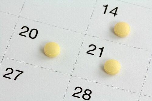 Contar os dias como métodos contraceptivos