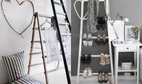 Escadas para decorar a casa