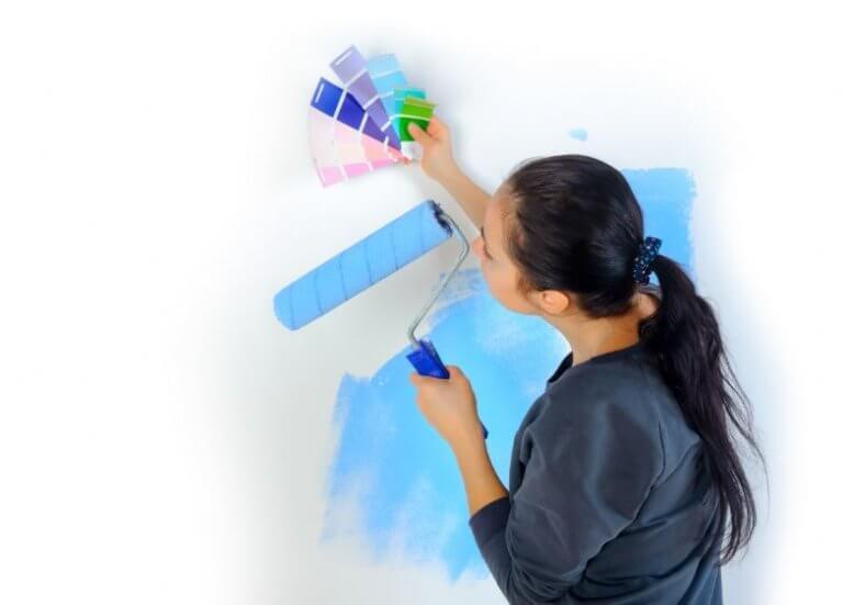 5 técnicas para pintar a casa