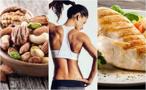Uma dieta efetiva para tonificar