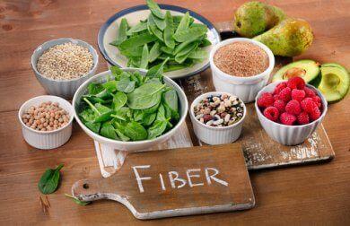 8 alimentos ricos em fibras