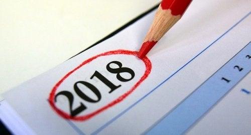 Ano de 2018