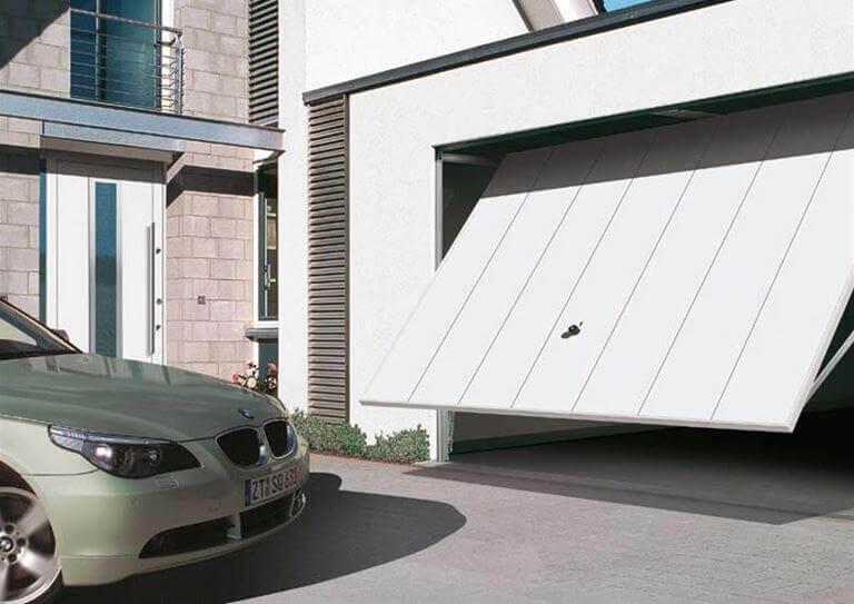 Portas de garagem modernas para proteger a sua casa