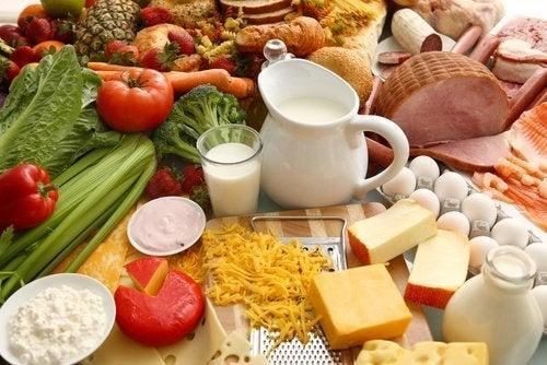 Alimentos da dieta dukan