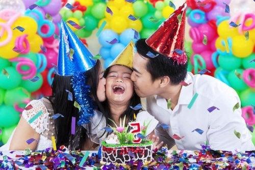 Comemorar é uma das atividades para fazer em família