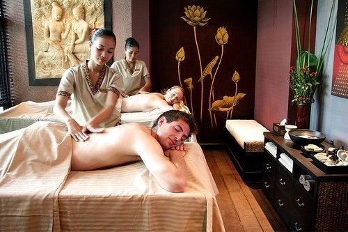 Sessão de massagem