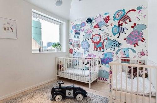 Ideia para decorar o quarto do seu bebê