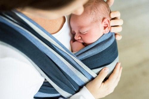 Nunca deve deixar de dar amor ao seu bebê