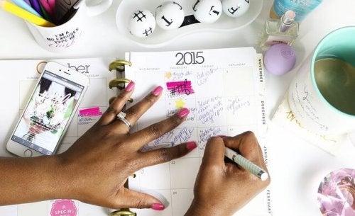 Montar um calendário personalizado