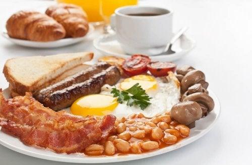 Café da manhã reforçado
