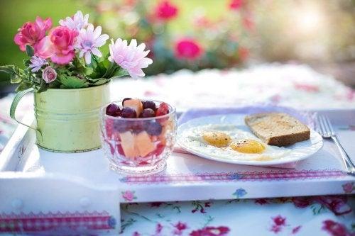 Café da manhã nutritivo