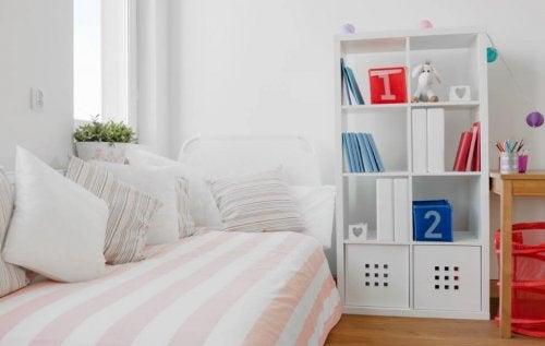 Camas modular em quartode menina