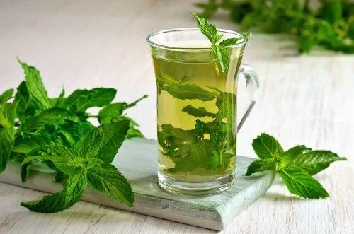 Chá de camomila e gengibre ajuda a tratar os gases