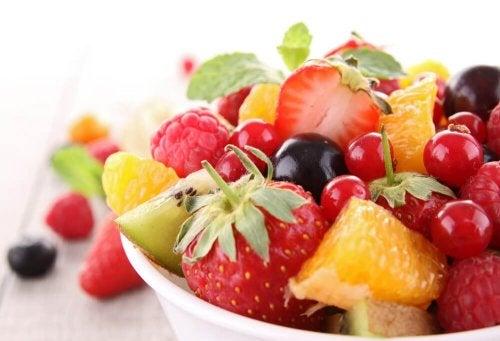 As frutas são parte de uma alimentação balanceada