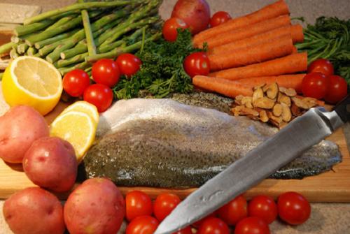 Alimentos saudáveis e naturais