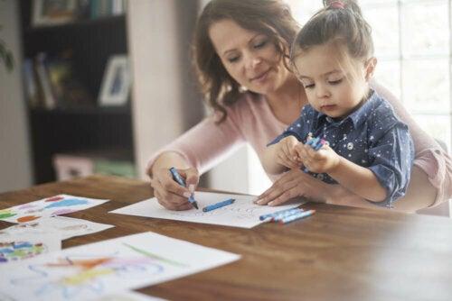 Qual é a importância da família no crescimento de um filho?