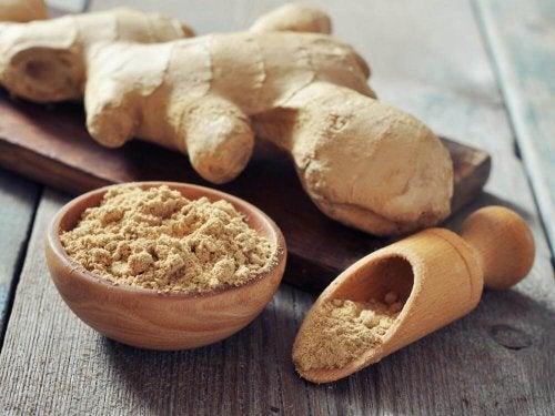 O gengibre pode ser consumido em cafés da manhã com poucas calorias