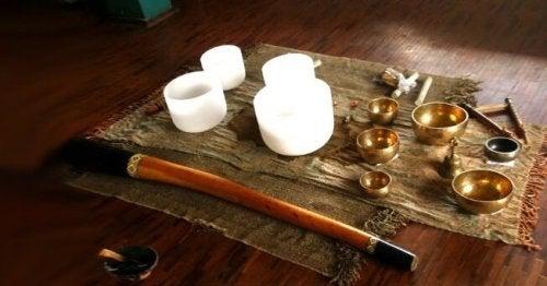 Instrumentos para sonoterapia