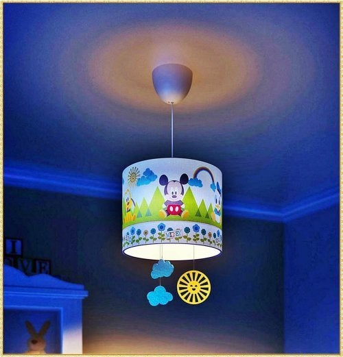 Lâmpada para quarto infantil
