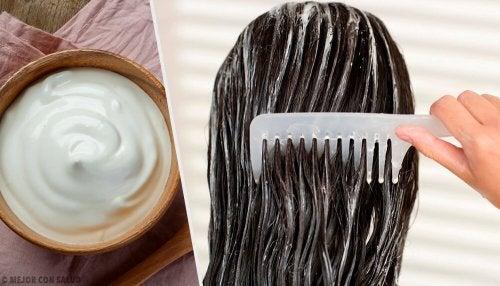Maionese para fortalecer o cabelo