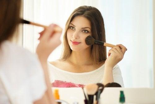 Maquiagem ideal para as bochechas
