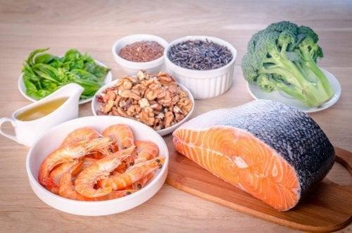 Salmão e gorduras saudáveis