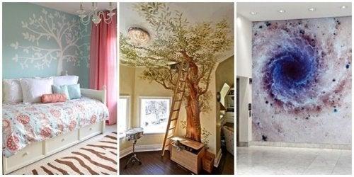 Papel de parede para decorar a casa