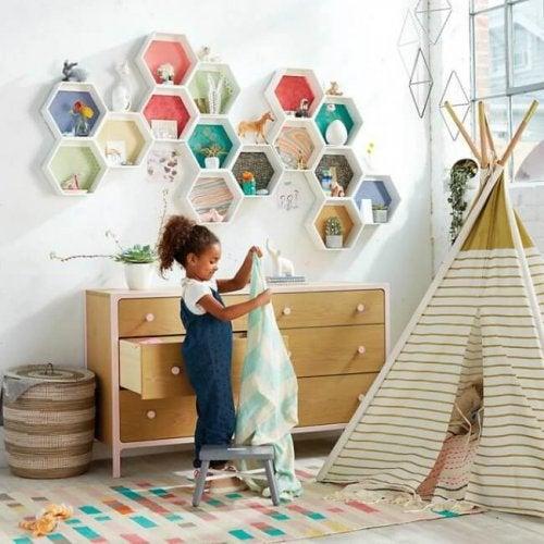 Ideias de decoração para o quarto das crianças
