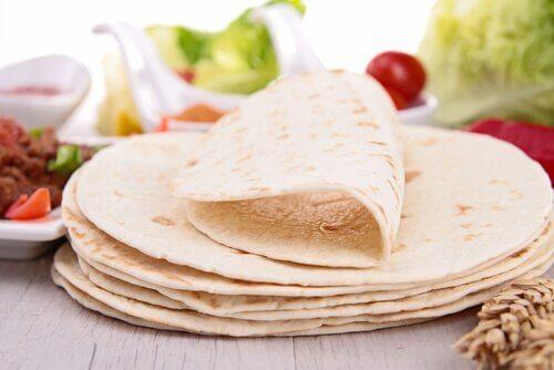Tortilhas de farinha