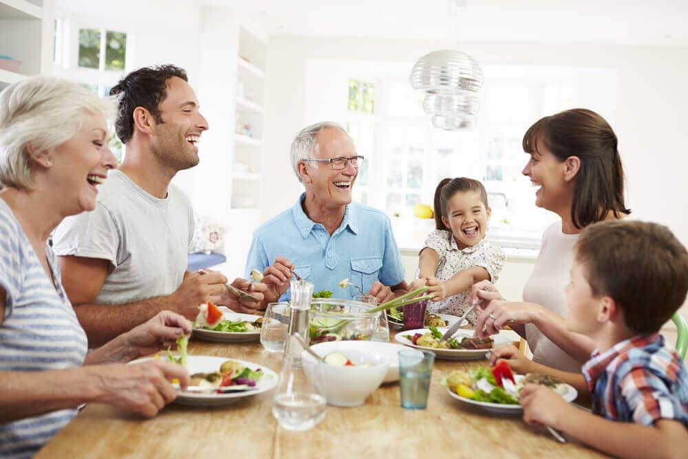 A importância de uma refeição em família