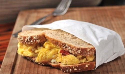 Sanduíche de queijo ajuda a aumentar sua massa muscular