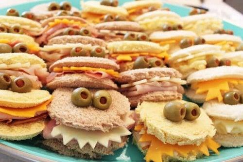 Sanduíches são receitas fáceis