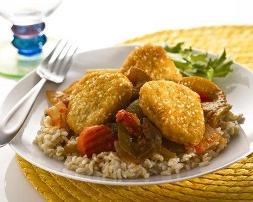 Receita deliciosa com soja e arroz