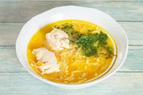 Sopa de frango
