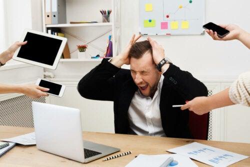 Os efeitos negativos do estresse