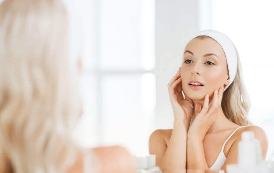 Rotina básica para o cuidado da pele