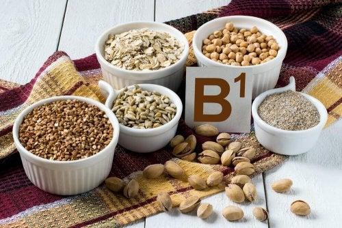 Alimentos fonte de vitamina B1