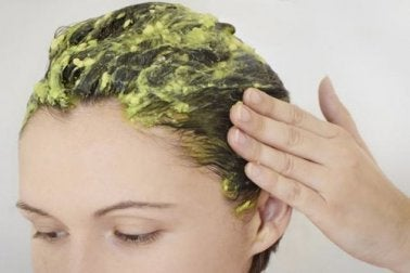 Máscara natural para os cabelos